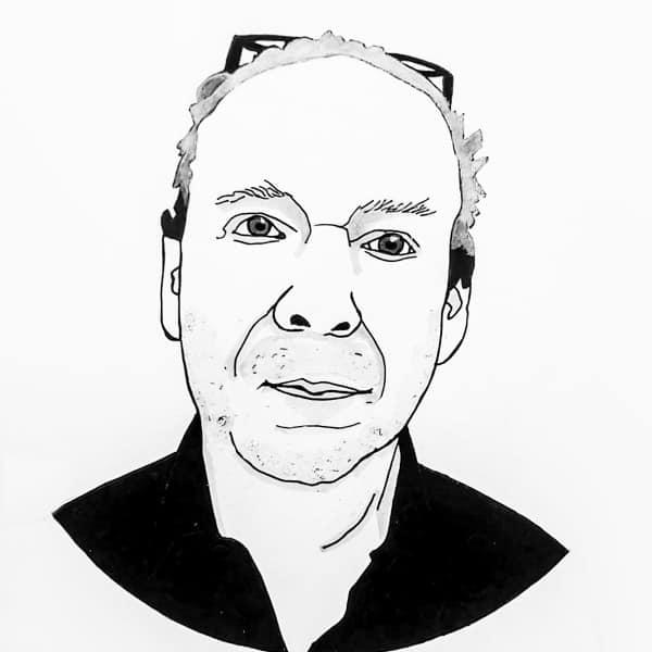 Portrait Sprecher Der Melog | Reverend Dabeler