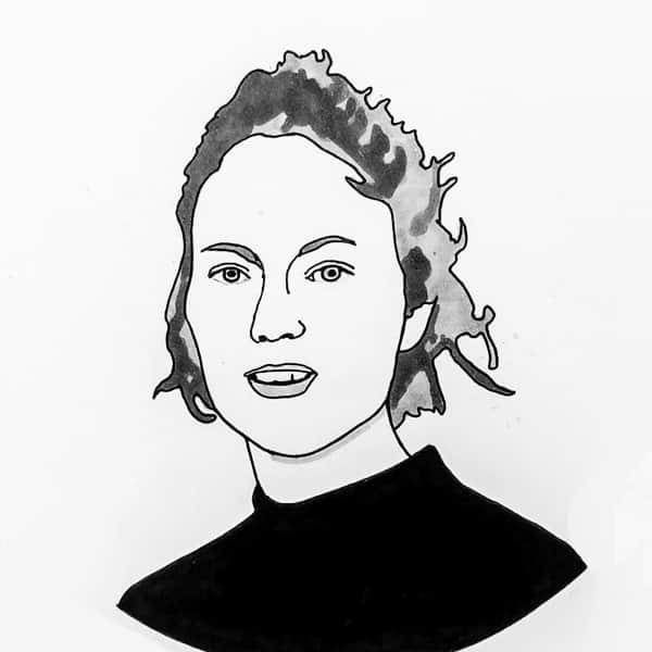 Portrait Sprecherin Julius Mutter | Alexandra Sagurna