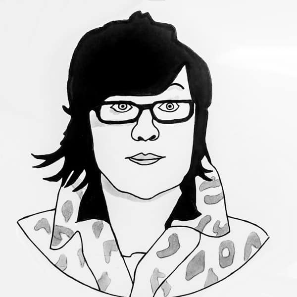 Portrait Sprecherin Frau Cactus | Françoise Cactus