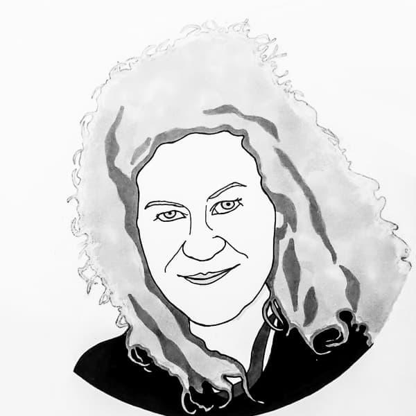 Portrait Sprecherin Frau Dunkel | Ruth Niehaus